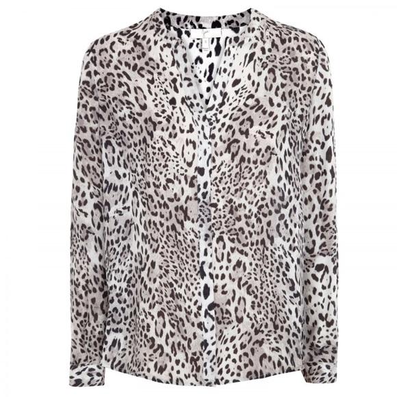 431b8d8864a0 Joie • Leopard Print Silk Blouse